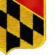 110th Field Artillery Regiment Patch | Lower Right Quadrant