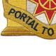 10th Transportation Battalion Patch | Lower Left Quadrant
