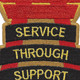 10th Support Group Patch | Center Detail