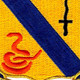 14th Cavalry Regiment Patch | Center Detail