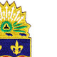 148th Infantry Regiment Patch   Upper Right Quadrant