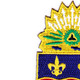 148th Infantry Regiment Patch   Upper Left Quadrant
