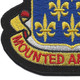 146th Cavalry Regiment Patch   Lower Left Quadrant
