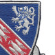 147th Armored Regiment Patch | Upper Right Quadrant
