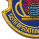 145th Operations Support Squadron Patch | Lower Left Quadrant