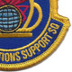 145th Operations Support Squadron Patch | Lower Right Quadrant