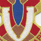 145th Chemical Battalion Patch | Center Detail