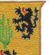 109th Cavalry Battalion Patch | Upper Right Quadrant