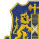 108th Infantry Regiment Patch | Upper Left Quadrant