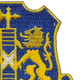 108th Infantry Regiment Patch | Upper Right Quadrant