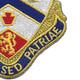 108th Field Artillery Regiment/Battalion Patch | Lower Right Quadrant