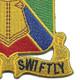 108th Armor Cavalry Regiment Patch | Lower Right Quadrant