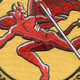 107th Fighter Squadron Patch   Center Detail