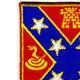 107th Field Artillery Regiment Patch   Upper Left Quadrant