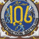 106th Mobile Construction Battalion Patch Kan Groo Cb | Center Detail