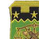 105th Military Police Battalion Patch | Upper Left Quadrant
