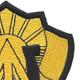 105th Cavalry Regiment Patch | Upper Right Quadrant