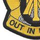 105th Cavalry Regiment Patch | Lower Left Quadrant