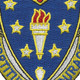 104th Infantry Regiment New York Guard Patch   Center Detail