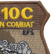 104th Expeditionary Flight Sqadron A-10C Operation Iraqi Freedom Patch | Upper Right Quadrant