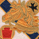 104th Cavalry Regiment Patch | Center Detail