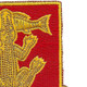103rd Armored Cavalry Regiment Patch   Upper Right Quadrant