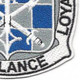 101st Military Intelligence Battalion Patch   Lower Right Quadrant
