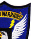 101st Division Winged Warriors Patch | Upper Right Quadrant