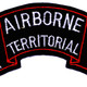 101st Airborne Infantry Division Yuma Arizona Territorial Chapter Patch | Center Detail