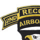 101st Airborne Division 506th Airborne Infantry Regiment 2nd Battalion Recon Patch | Upper Left Quadrant