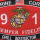 0911 Drill Instructor MOS Patch | Center Detail