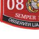 0894 Observer Liasion Chief MOS Patch | Lower Left Quadrant