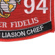 0894 Observer Liasion Chief MOS Patch | Lower Right Quadrant