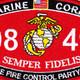 0849 Shore Fire Control Party Man MOS Patch | Center Detail