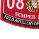 0848 Field Artillery Operations Man MOS Patch | Lower Left Quadrant