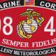0847 Artillery Meteorological Man MOS Patch | Center Detail