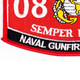 0845 Naval Gunfire Spotter MOS Patch | Lower Left Quadrant