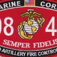 0844 Field Artillery Fire Control Man MOS Patch | Center Detail