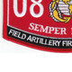 0844 Field Artillery Fire Control Man MOS Patch | Lower Left Quadrant