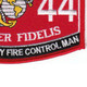 0844 Field Artillery Fire Control Man MOS Patch | Lower Right Quadrant