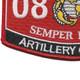 0802 Artillery Officer MOS Patch | Lower Left Quadrant