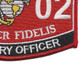 0802 Artillery Officer MOS Patch | Lower Right Quadrant