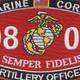 0802 Artillery Officer MOS Patch | Center Detail