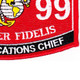 0699 Communications Chief MOS Patch | Lower Right Quadrant