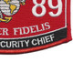0689 MOS Cyber Security Chief Patch | Lower Right Quadrant