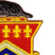 120th Field Artillery Regiment Patch | Upper Right Quadrant