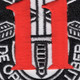 11th Special Forces Group Crest Patch Black White Red | Center Detail