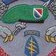 11th Special Forces Group Alpha Patch | Center Detail