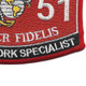 0651 Data Network Specialist MOS Patch   Lower Right Quadrant