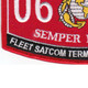 0626 Fleet Satcom Terminal Operator MOS Patch | Lower Left Quadrant